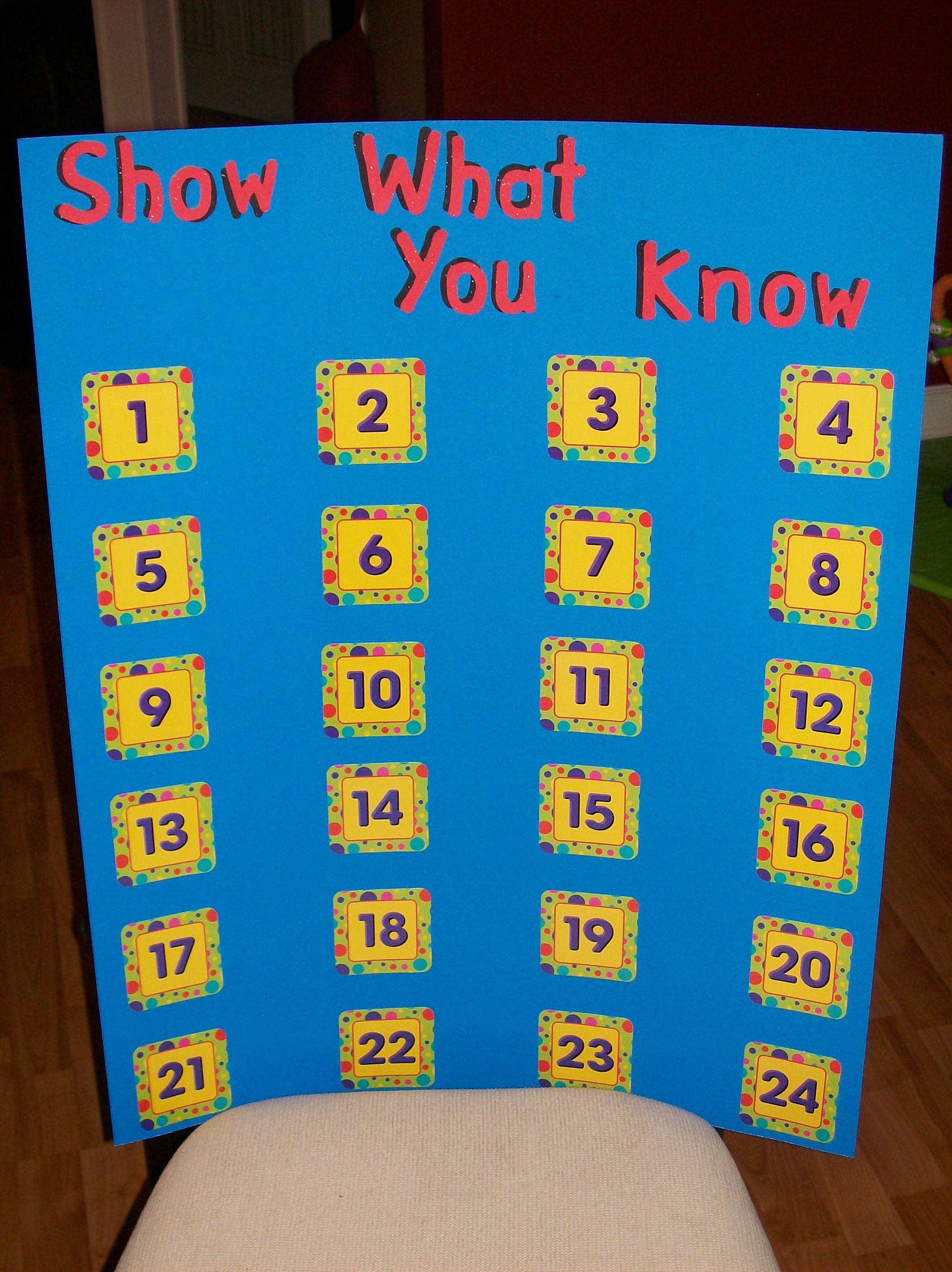 A Tracking Chart For My Classroom I Used To Have One Made