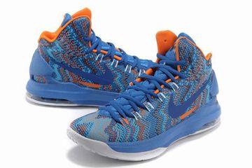 775a8c1ee91d Nike Zoom KD V 5 Christmas Graphic Royal BlueWhiteOrange Womens Shoes