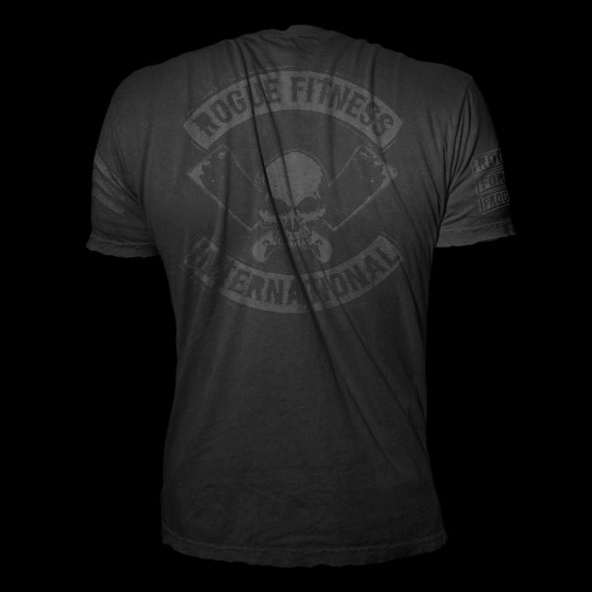 Matte Black on Black Rogue International Shirt | Fitness Shirts ...