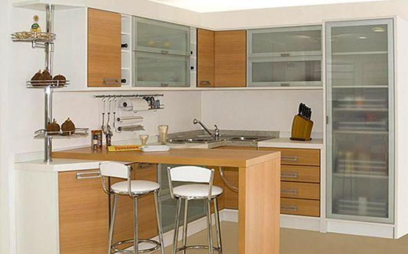 Fotos de cozinhas planejadas pequenas 00001111 casa - Armarios para casas pequenas ...