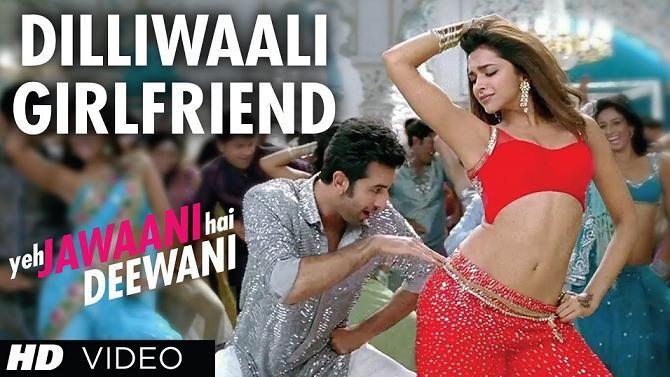 Yeh Jawaani Hai Deewani Launches A New Song Titled Dilliwaali Girlfriend Girlfriend Song Hindi Dance Songs Bollywood Music