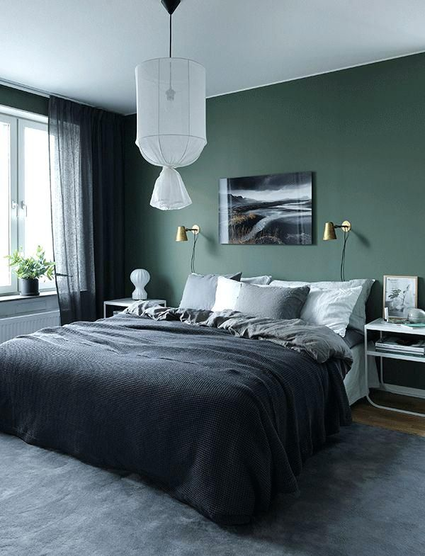 What Color Curtains With Green Walls Best Green Walls Ideas On Green Bedroom Walls Green Living Room Wa Green Bedroom Walls Home Decor Bedroom Bedroom Interior