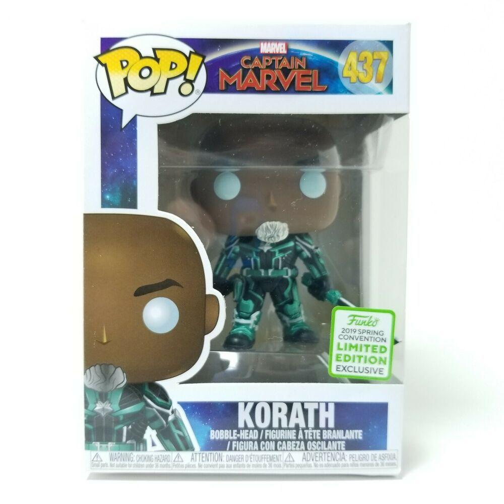Captain Marvel Vinyl Figure ECCC 2019 Exclusive Korath Funko Pop