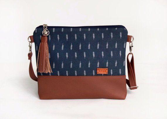 95885e178f21 Crossbody purse Fall gift Bags and purses Vegan Small cross body bag Womens  gift Autumn bag