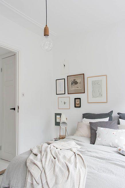 Slaapkamer make-over van interieurstylist Holly | White Rooms ...