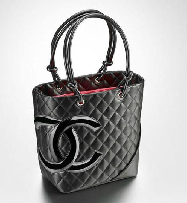 I think I could put my iPad in this bag and still have room. I love how Chanel has a bag for every occasion.