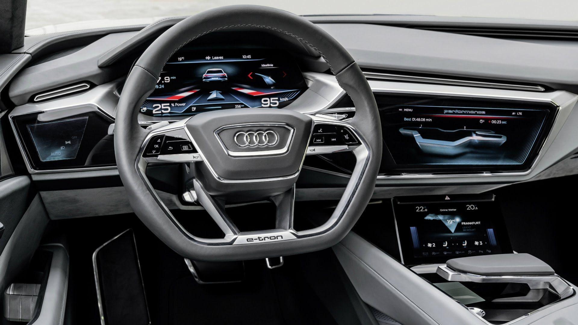 Audi E Tron Quattro Concept Interior Audi E Tron Audi Cars Audi Interior