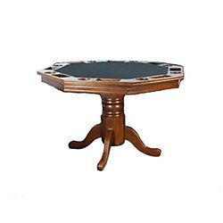 Solid Wood Octagon Poker Table
