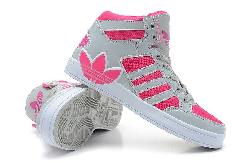 Buy Authentic Adidas Originals City Love 4 Generations High Top Shoes Women Gray Pink 8XklvxFe