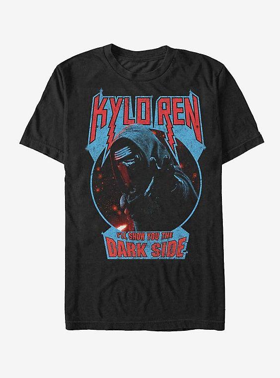 Star Wars Kylo Ren Show Dark Side T-Shirt