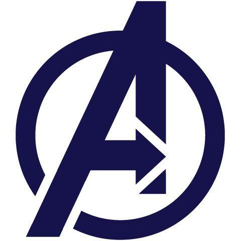 Avengers+Silhouette | The Avengers logo Silhouette ...