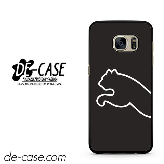 Black Puma Half Logo DEAL-1874 Samsung Phonecase Cover For Samsung Galaxy S7 / S7 Edge