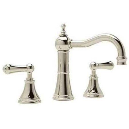Rohl U3723 Perrin and Rowe Widespread Bathroom Faucet, Available in Various Colors, Silver