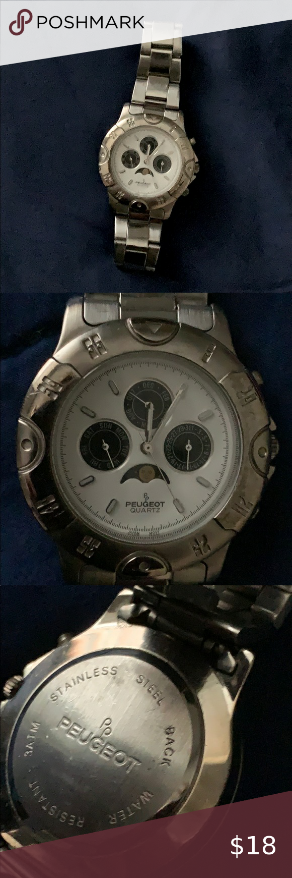 Peugeot Watch Mens Accessories Accessories Watches Accessories