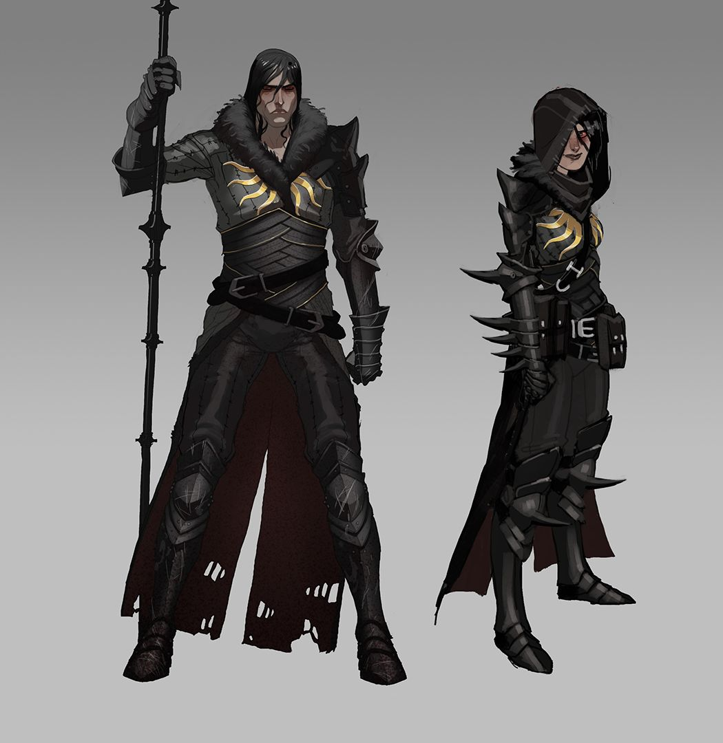 Dragon Age Inquisition Character Design Ideas : Matt rhodes concept artist at bioware works on dragon