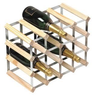 Wine Rack Casier A Vin Pour 16 Bouteilles Deco Maison Et Bureau