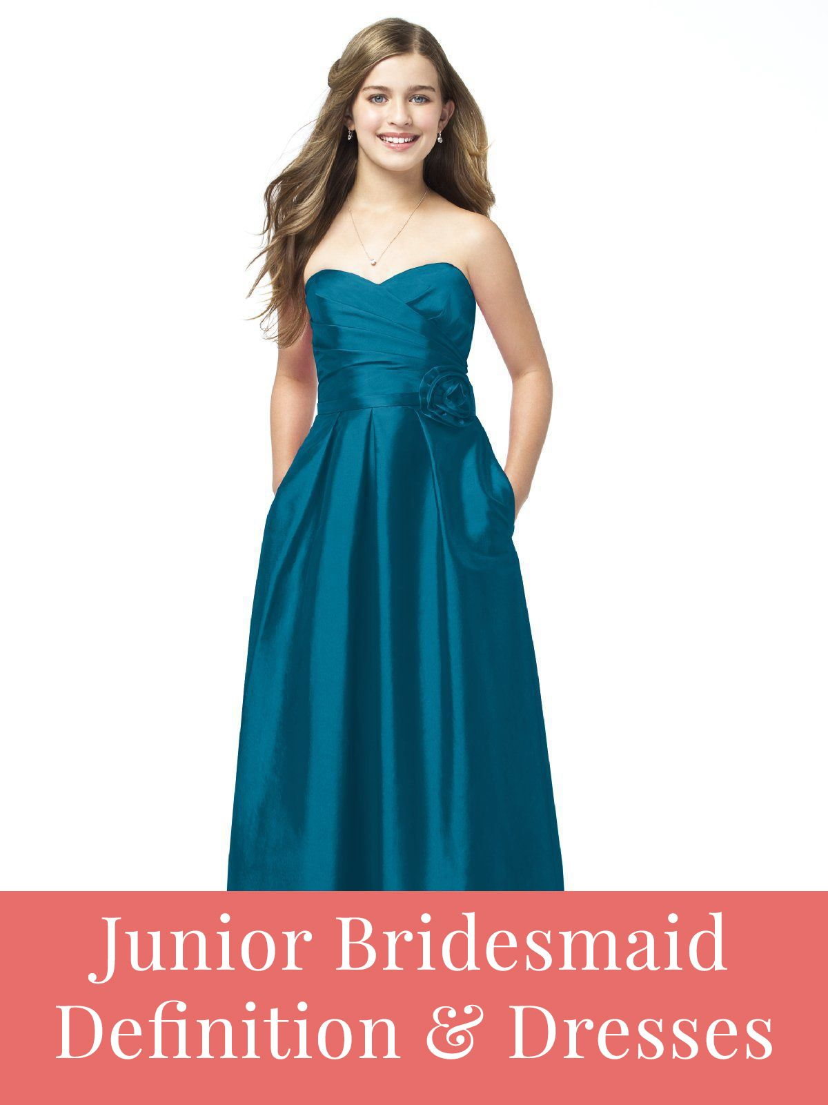 What does a junior bridesmaid do? Better yet, what does she wear ...