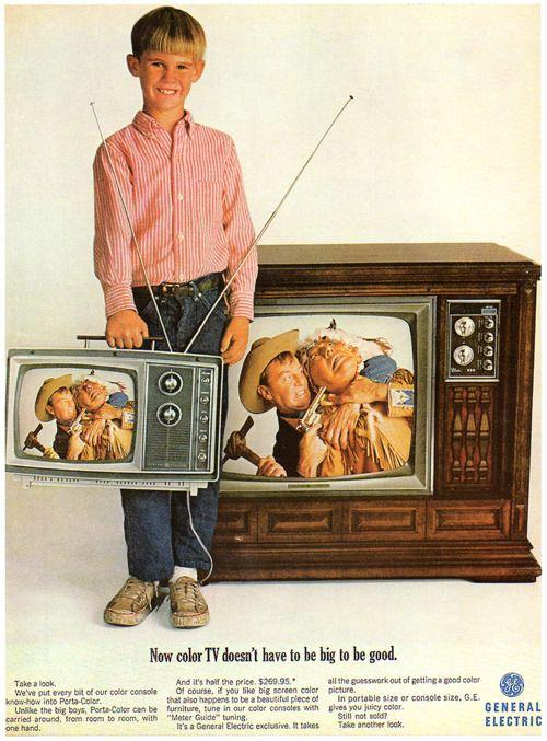 1948 General Electric Ad - 376 Radio, 810 Television