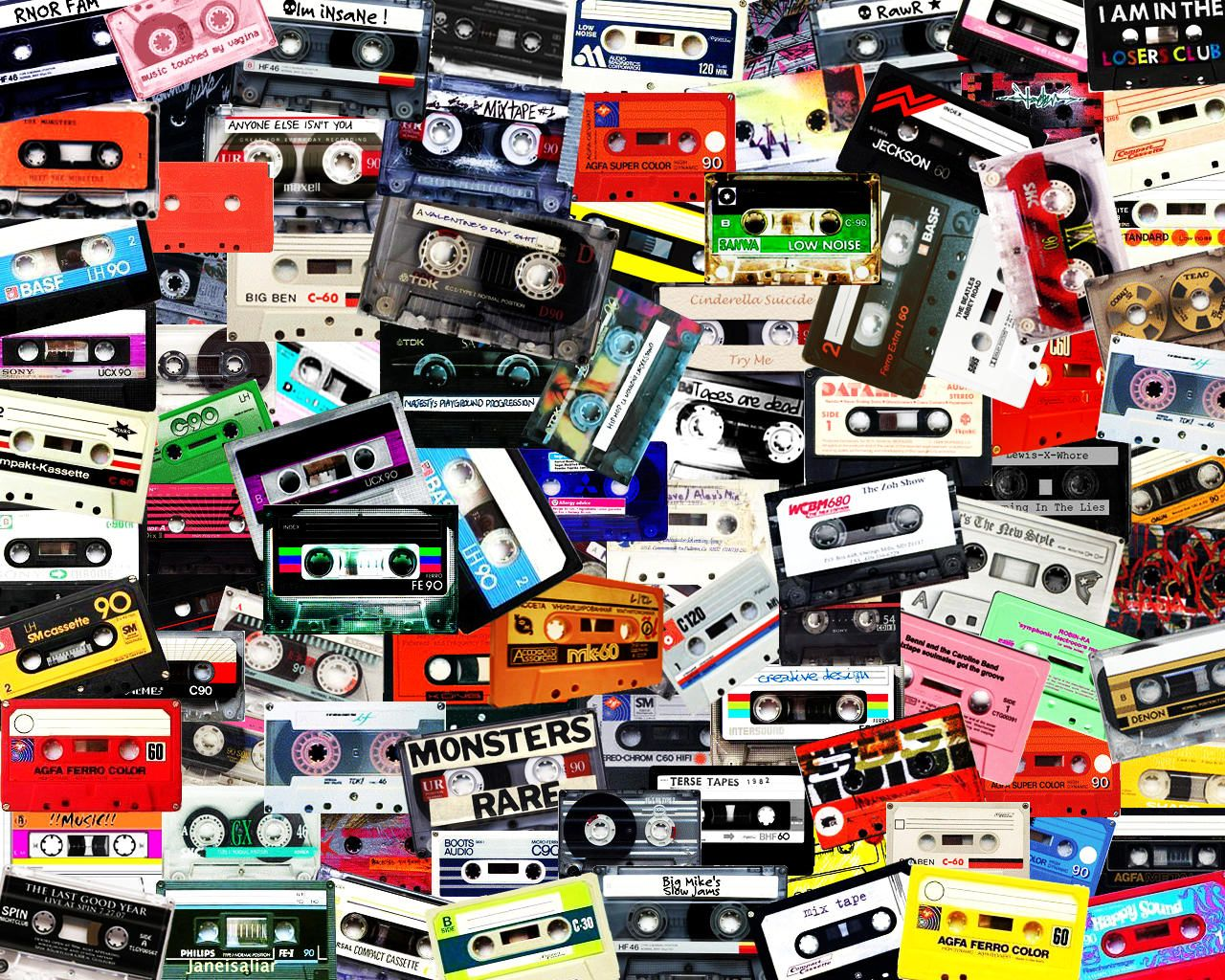 Cassette tapes bob dylan jefferson airplane johnny cash
