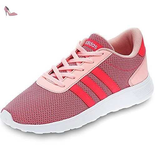 the best attitude 24a64 ae28d adidas Lite Racer K, Chaussures de Tennis Mixte Enfant, Rose (CornebRojimp
