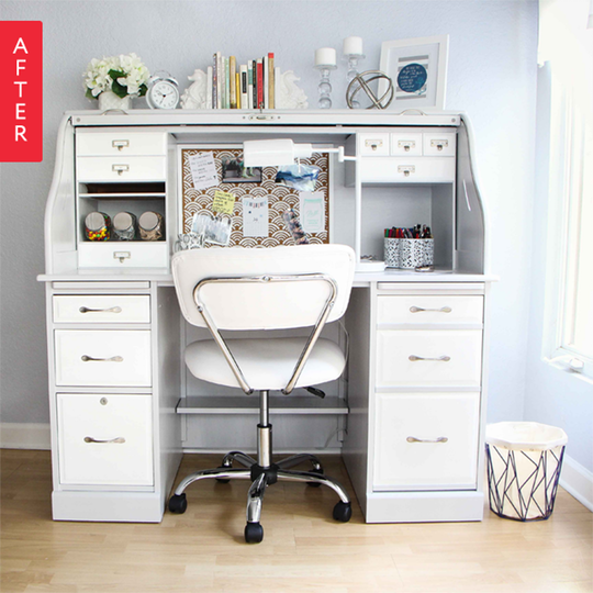 Image Result For White Roll Top Desk Ikea Roll Top Desk Desk Makeover Desk Styling