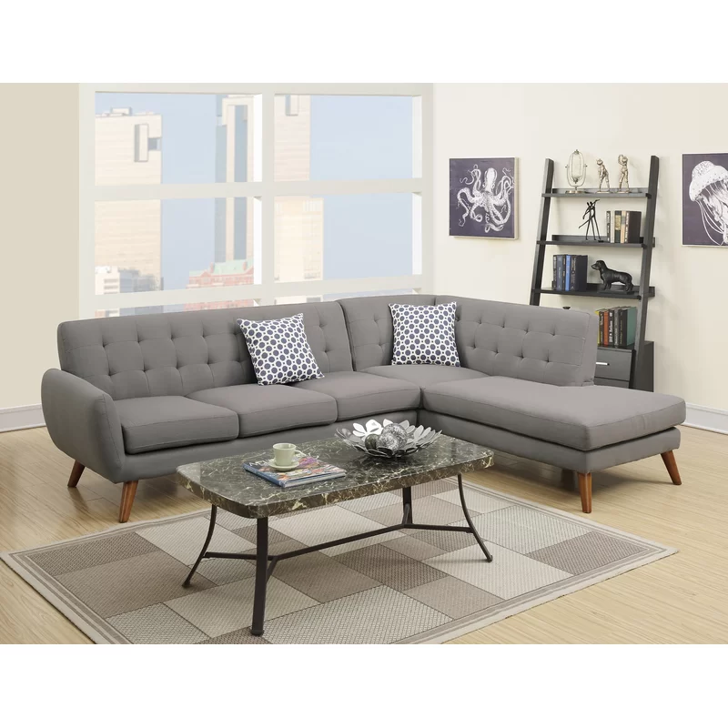 Millette Right Hand Facing Sectional In 2020 Modern Sofa