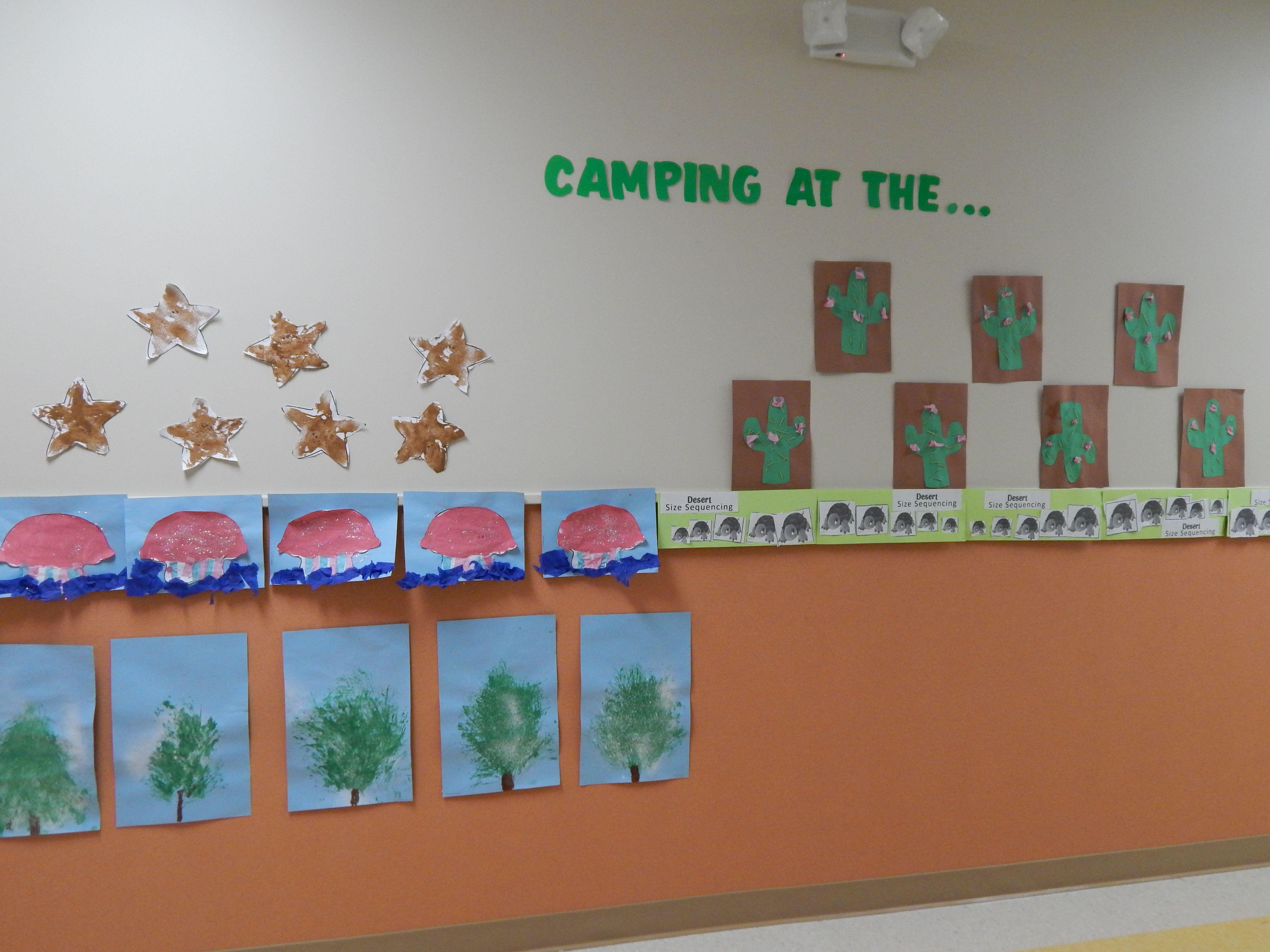 Preschool Camping Crafts