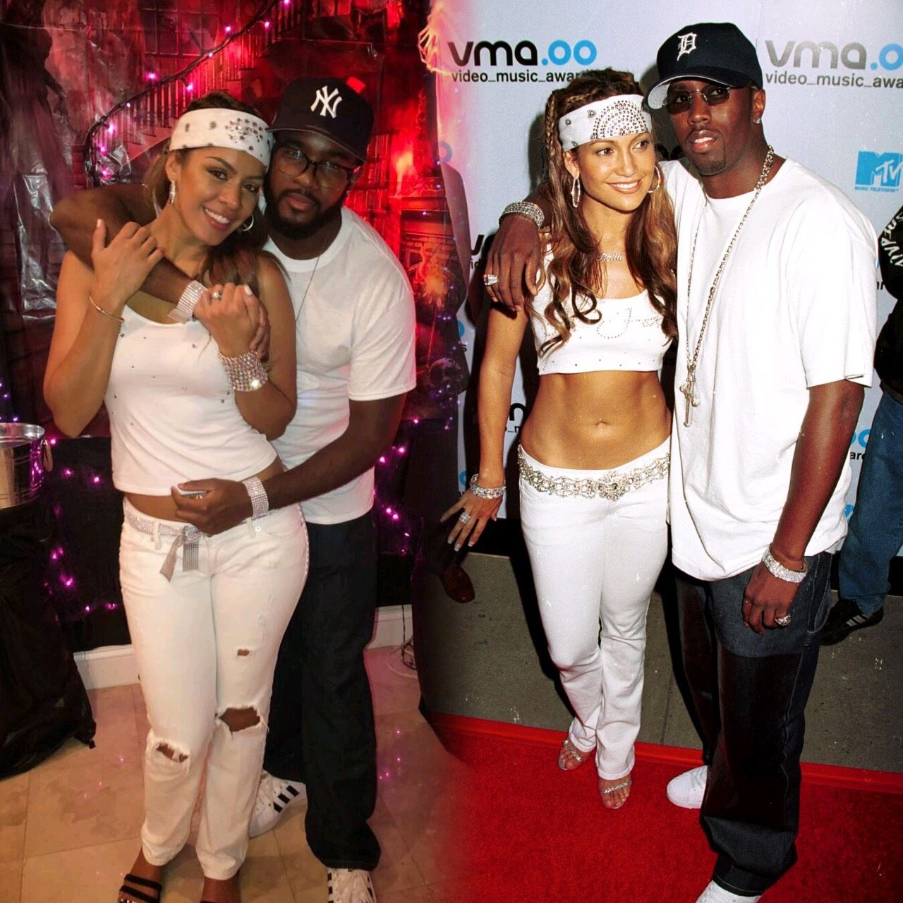 P Diddy Halloween Costume 2020 JLo and Puff VMAs Halloween Costume #couplescostumes #halloween