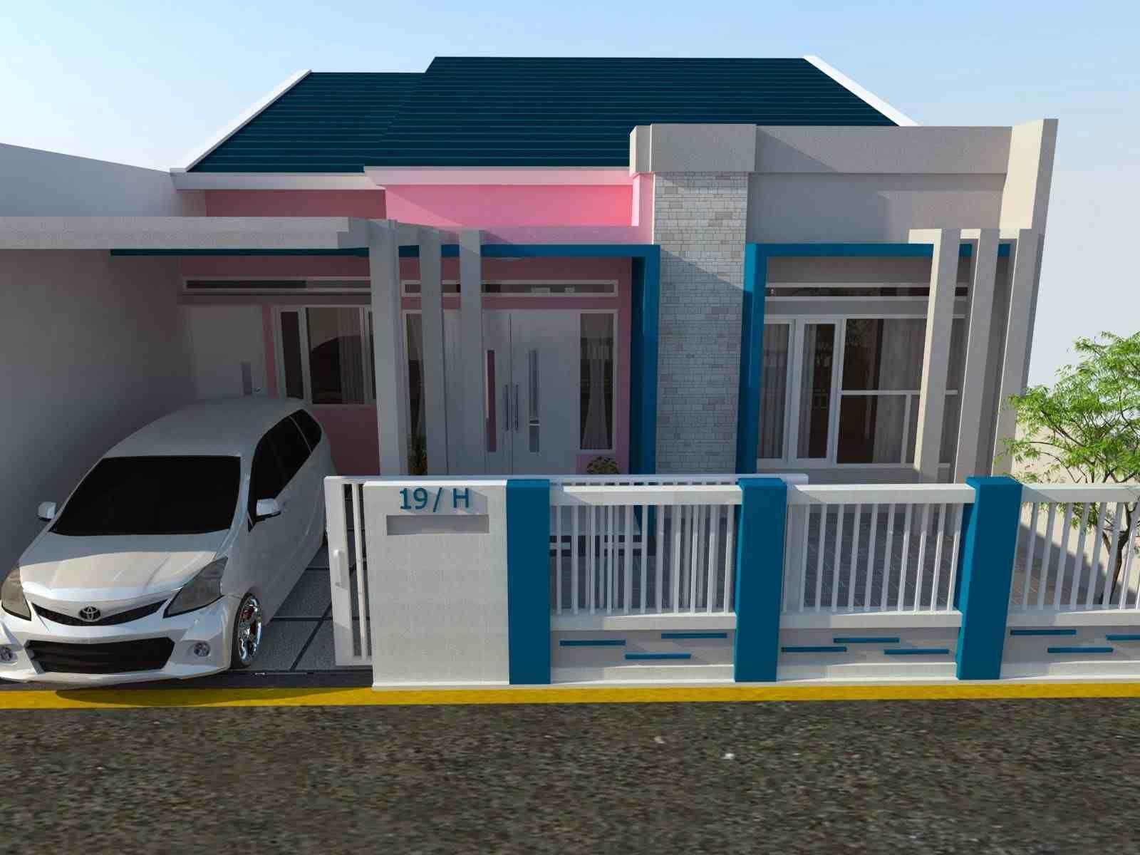 Warna Cat Eksterior Rumah Minimalis 2019 Rumah Minimalis Rumah Desain Rumah