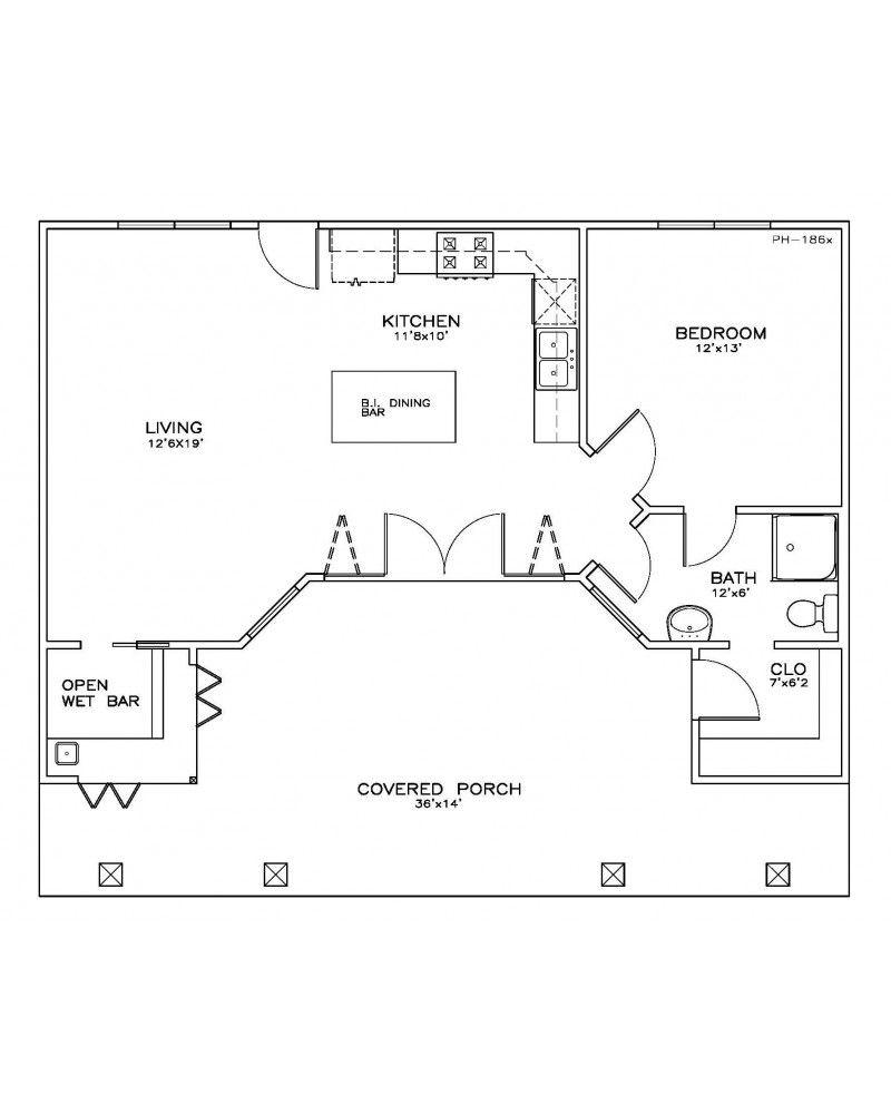 Floor Plan Pool House Plans Guest House Plans House Floor Plans