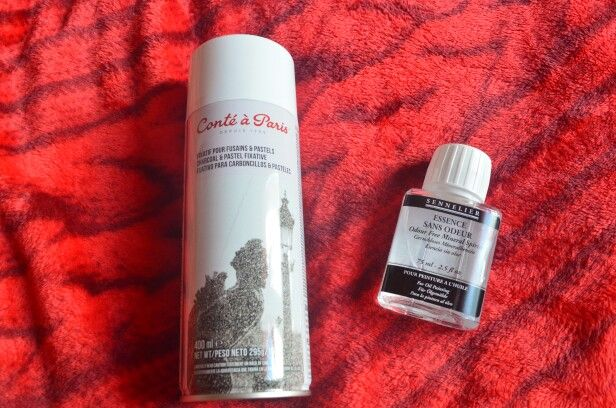 Spray fixatif - essence sans odeur