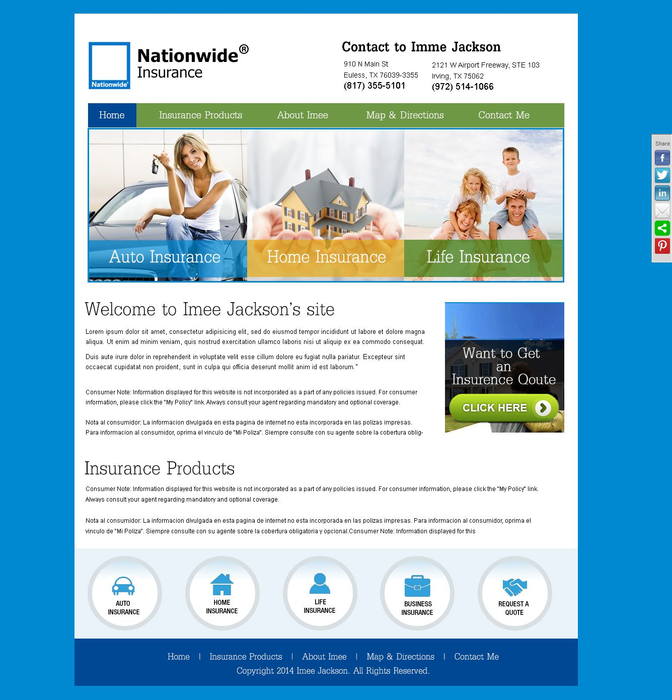 Designs Awesome Templates Creative Designs Photoshop Car Insurance Home Insurance Photoshop