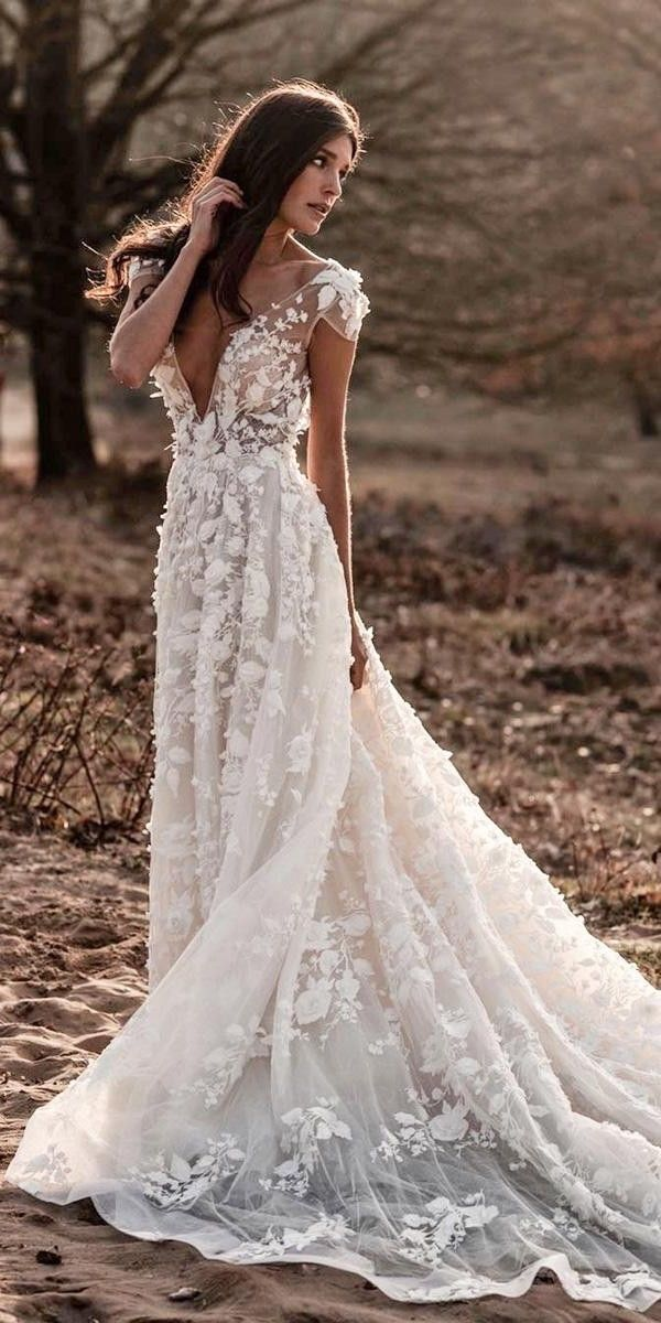 30 + ALine Wedding Dresses 2020/2021 in 2020 (With images