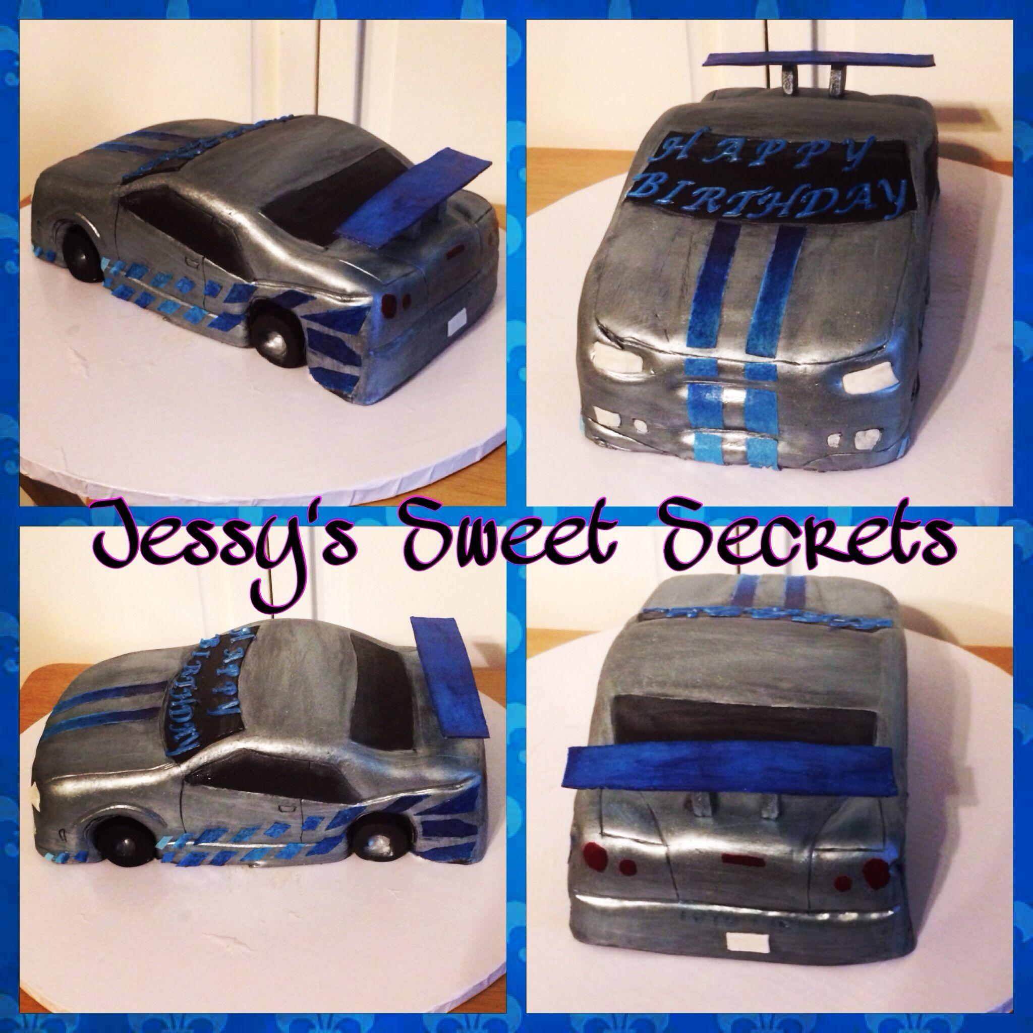3D Car Cake Nissan Skyline