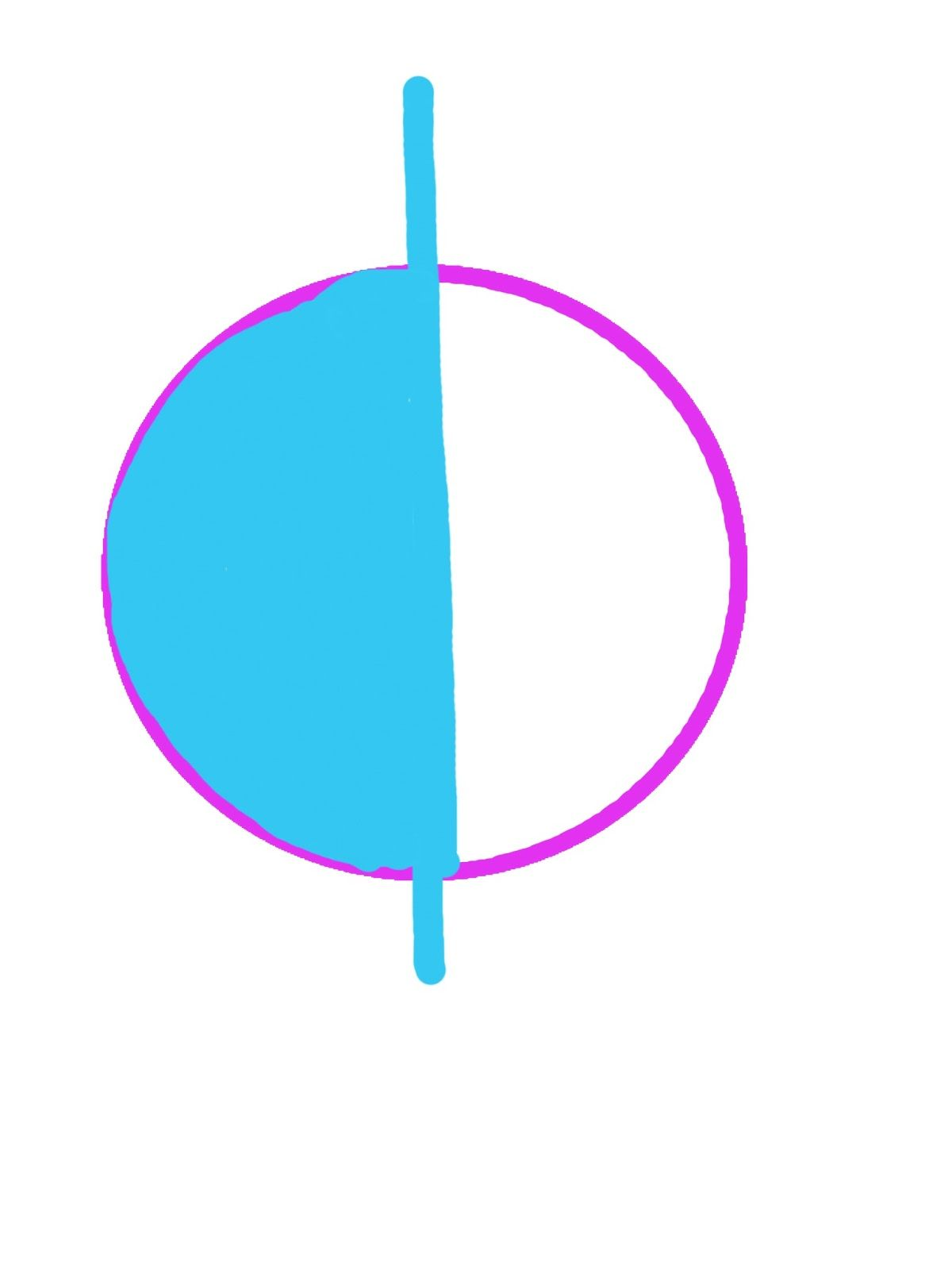 Create images to represent the fractions: Doodle Buddy - Use the ...