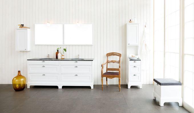 Badrum badrum panel : Klinker färg, vit panel och Solvik - Aspen | BATHROOM | Pinterest ...