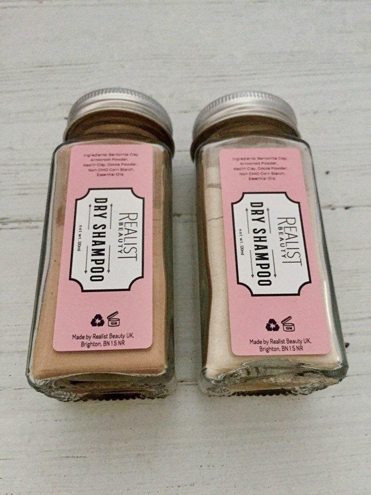 Organic Natural Dry Shampoo, shampoo powder, organic hair