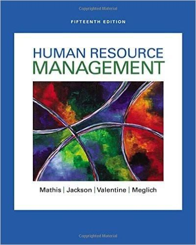 Isbn 13 978 1305500709 ebookdownloadable pdf test bank and human resource management edition by robert l fandeluxe Choice Image