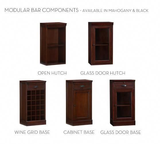 Build Your Own Modular Bar Cabinets Potterybarn Barfurniturecabinet