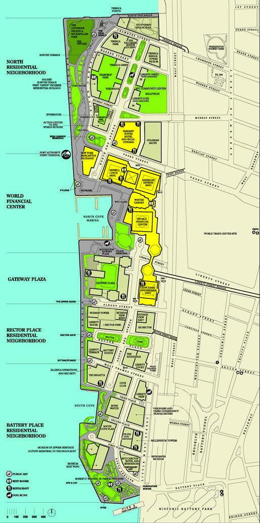 battery park city parking map | Urban Networks: Nueva York
