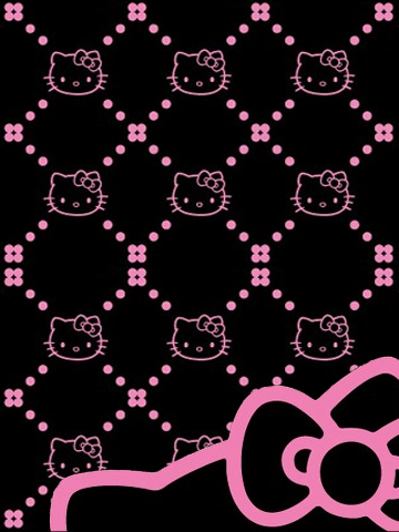 hello kitty pictures black Bing Imágenes Hello kitty