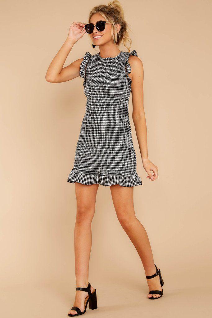 dress for pref round of sorority recruitment #blacksleevelessdress