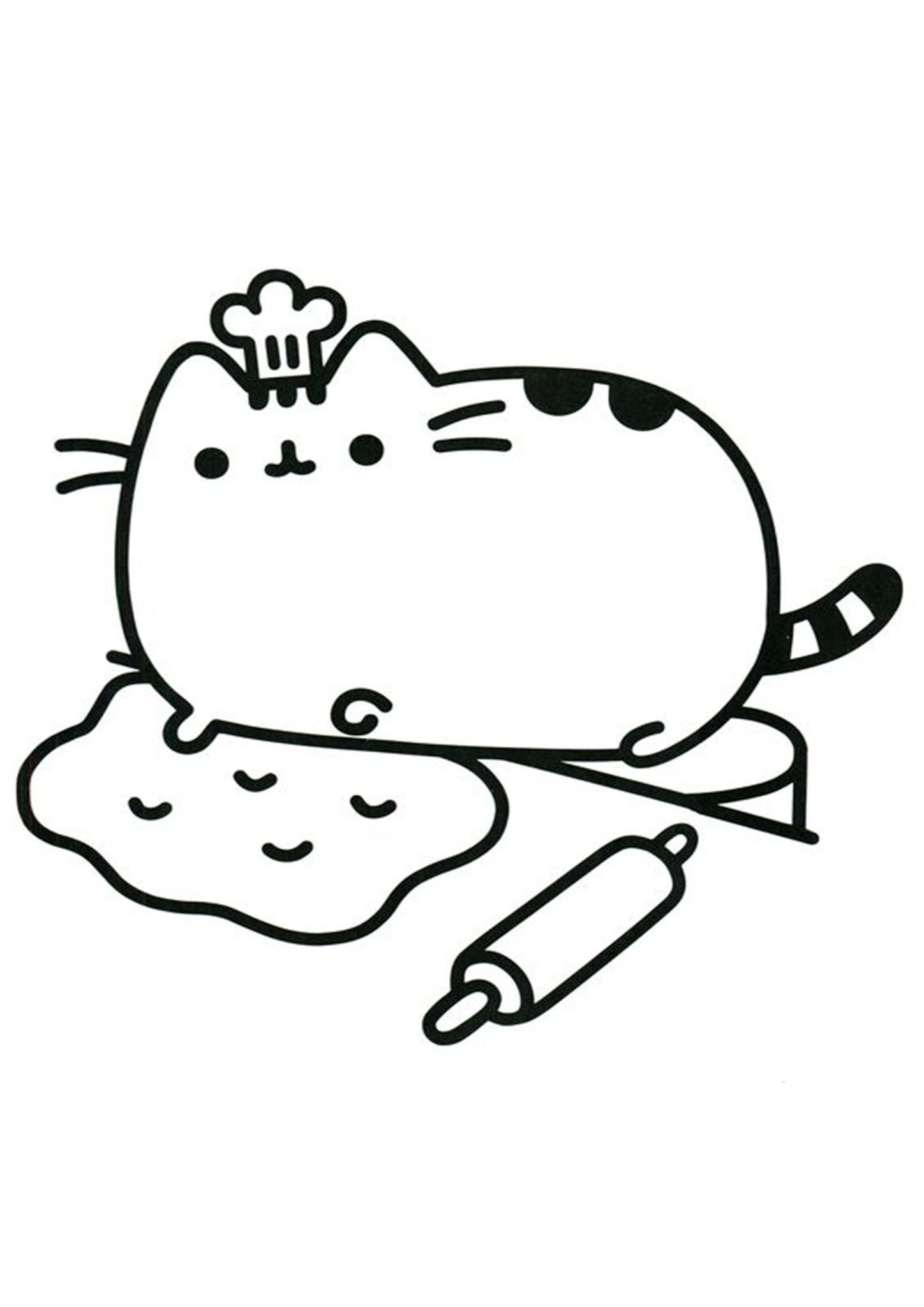 Free Easy To Print Pusheen Coloring Pages Pusheen Coloring Pages Cat Coloring Page Kids Printable Coloring Pages