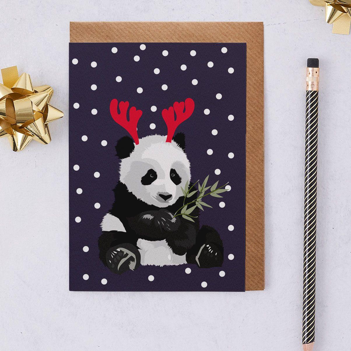 Christmas panda called jenny christmas panda christmas