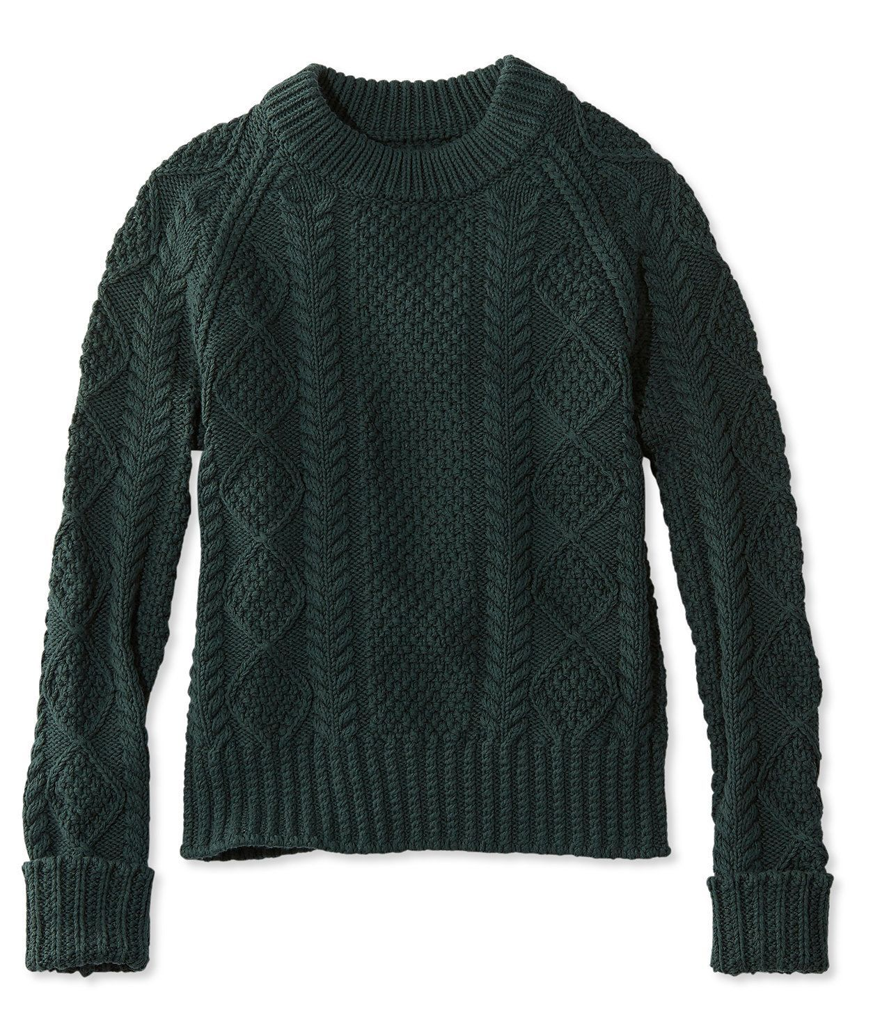 Signature Cotton Fisherman Sweater | Products