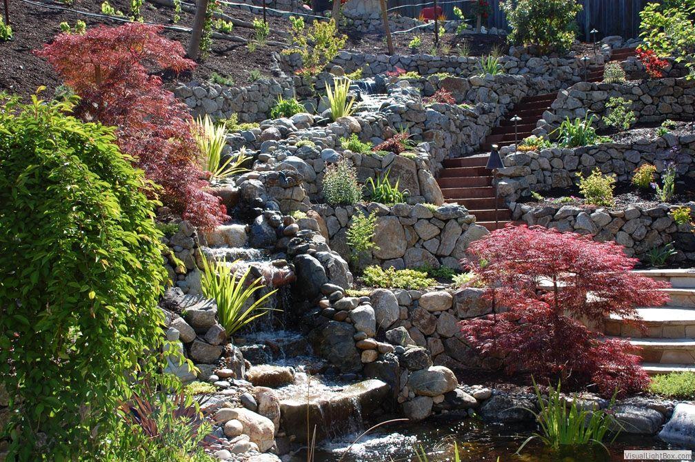Garden Lights Landscape Design Lamorinda Lafayette Orinda Moraga Piedmont Walnut Creek Ala Pond Water Features Landscape Design Services Water Features