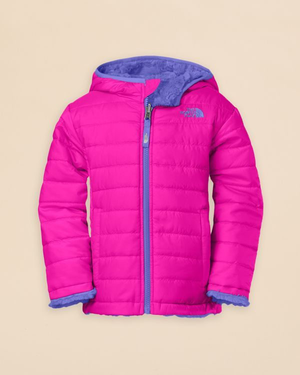 6ae6ff157 The North Face Girls' Reversible Mossbud Swirl Jacket - Sizes 2T-4T ...