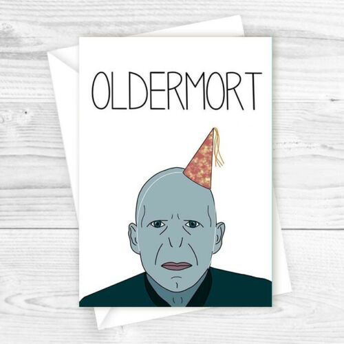 Harry Potter Birthday Card Voldemort Funny Happy Birthday Card Greetings Ebay Happy Birthday Card Funny Funny Birthday Cards Harry Potter Birthday Cards
