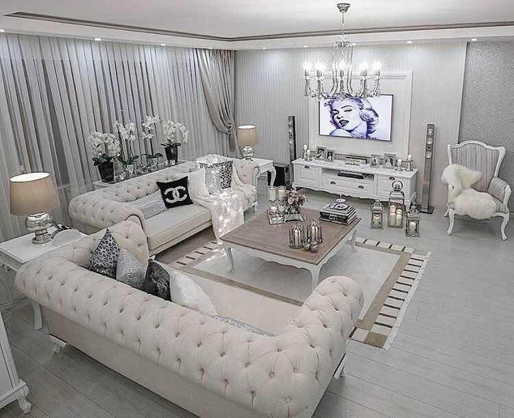 Decoracion De Salas Https Noticiastu Com Ocio 27 Ideas Inspiradoras Para Decoracion Luxury Living Room Luxury Living Room Design Living Room Decor Apartment