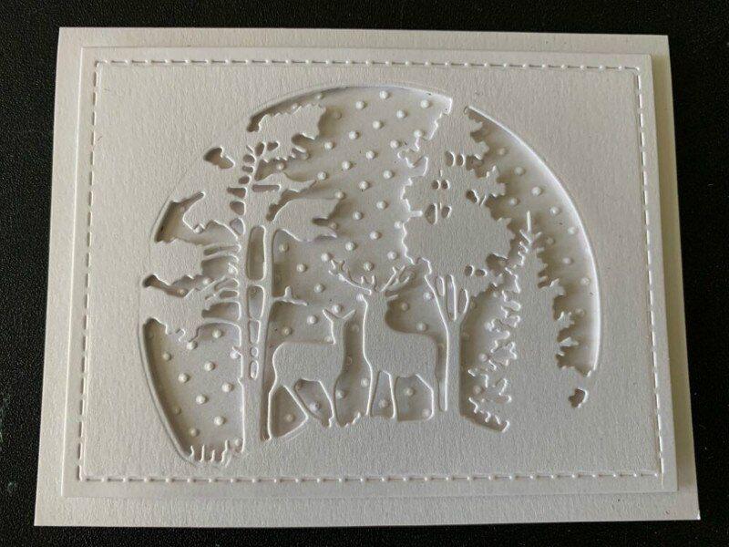 Stanzschablone Blume Herz Weihnachten Hochzeit Geburtstag Oster Karte Album DIY